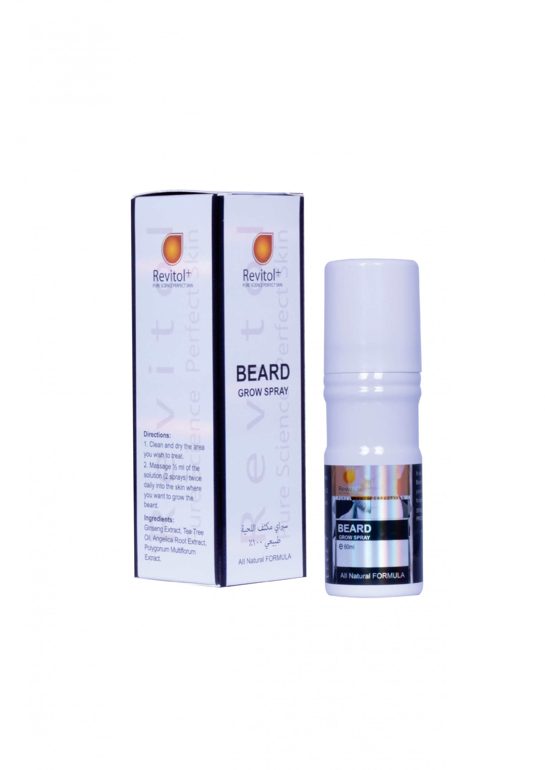 Revitol Beard Grow Spray 60ml