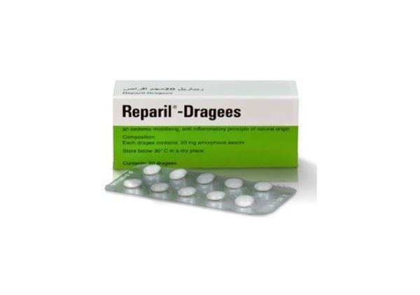 REPARIL DRAGEES 40 TABLETS