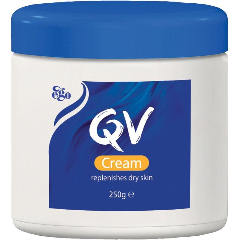 QV CREAM JAR 250GM.