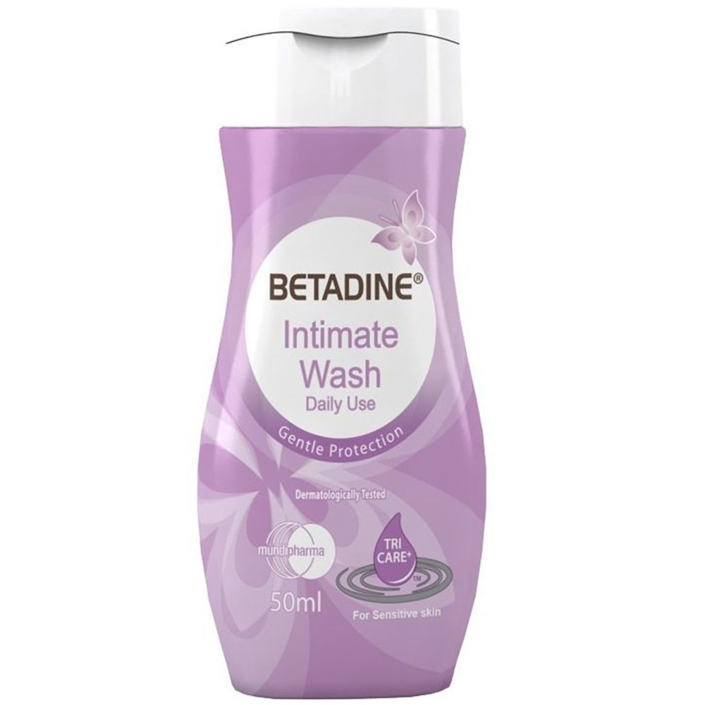 BETADINE INTIMATE WASH DAILY USE 50 ML