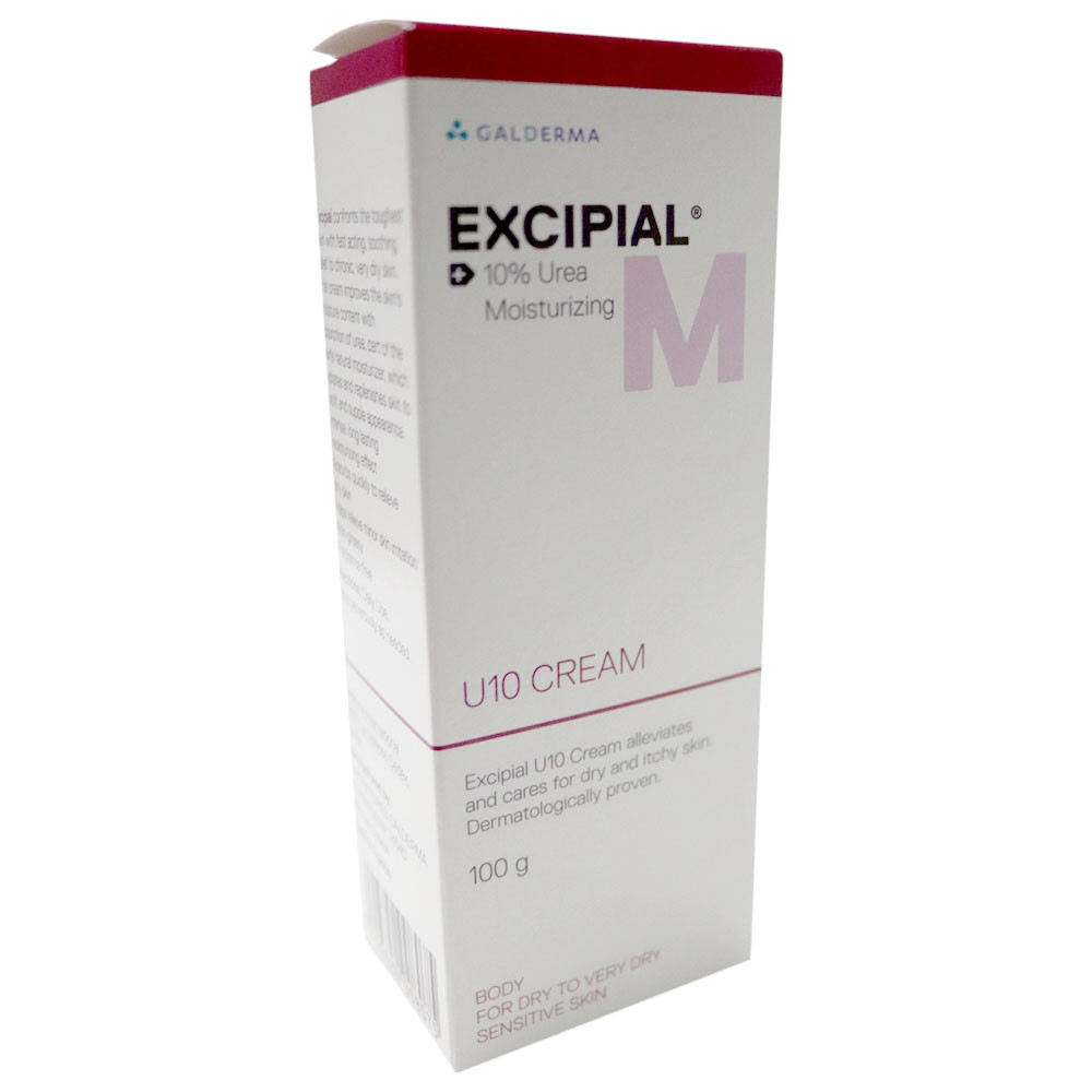 EXCIPIAL M U10 MOIST CREAM 100 GM