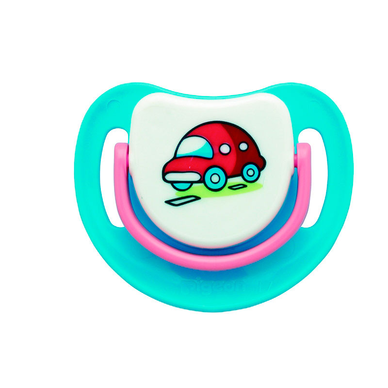 Pigeon Silicone Pacifier 0-5 Month-13679