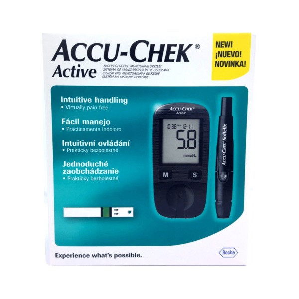 ACCU-CHEK ACTIVE MMOL /L MACHINE