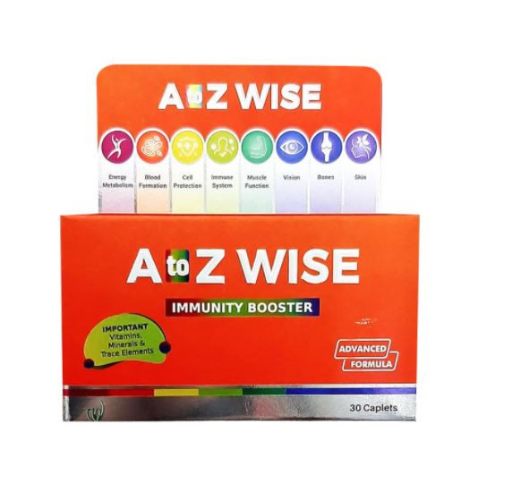 A TO Z WISE IMMUNITY BOOSTER 30 CAPSULES