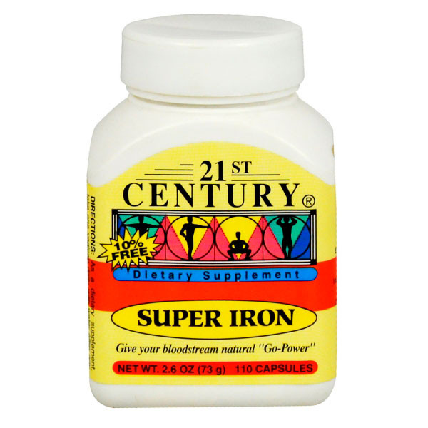 21 CEN SUPER IRON 110 CAP