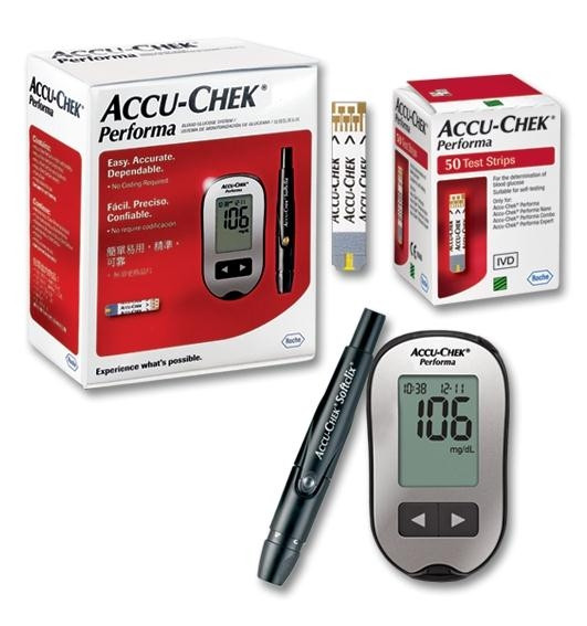 ACCU-CHEK PERFORMA MG/DL +50 STRIPS -OFFER