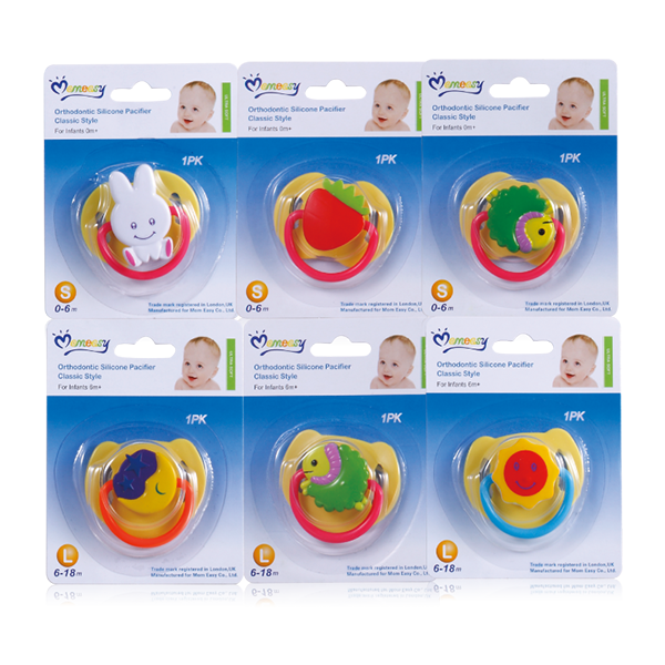 Momeasy Classic Silicon Pacifier Classic Style(48312) .