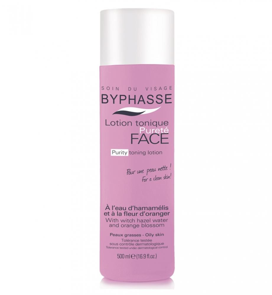 BYPHASSE Purity toner lotion witch hazel water and orange blossom