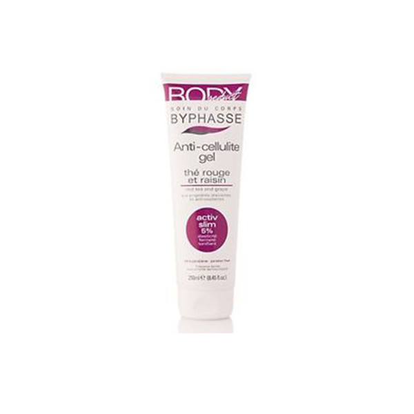 BYPHASSE Body seduct anti-cellulite gel red tea and grape
