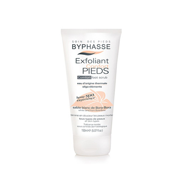 Byphasse Home spa experience comfort foot scrub