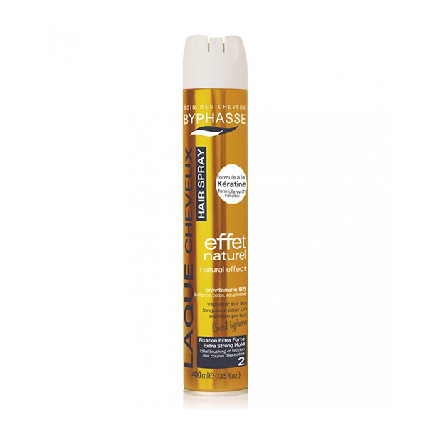 BYPHASSE Hair spray shine effect extra strong hold
