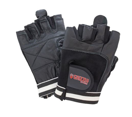 GRIZZLY PAWS LEATHER GLOVES SIZE-MEDIUM