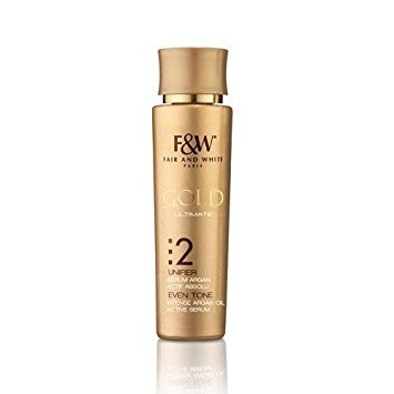 F&W FAIR AND WHITE GOLD ULTIMATE 2 ACTIVE SERUM 30ML