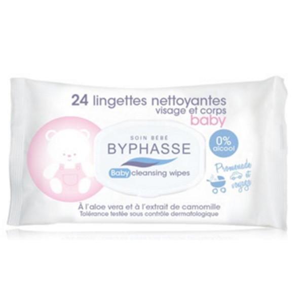 BYPHASSE Baby wipes 24 PACK