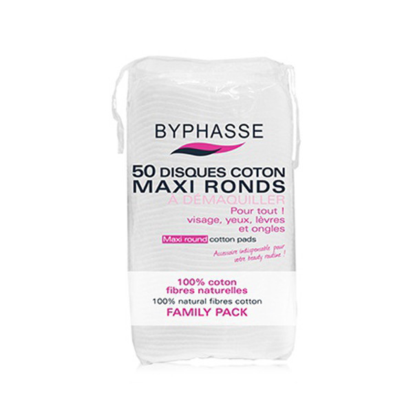 Byphasse Maxi round cotton pads