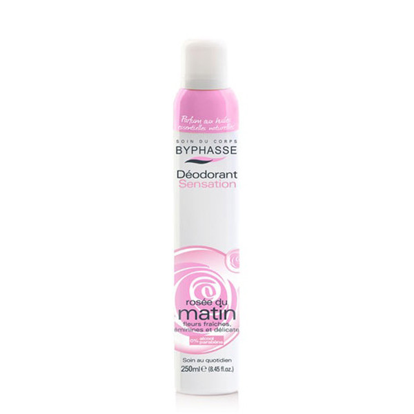 BYPHASSE Deodorant spray morning dew (ROSE DU MATIN)