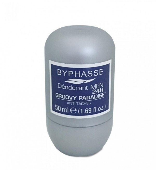 BYPHASSE 24h men deodorant Groovy Paradise (roll-on)