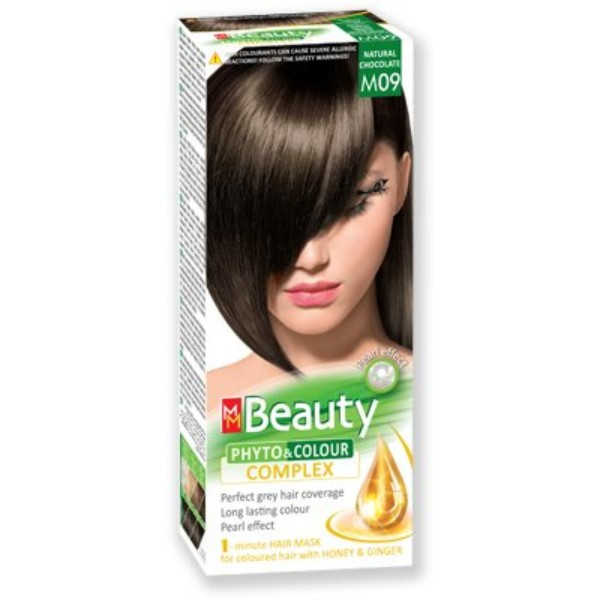 MM Beauty Permanent Hair Phyto Color Natural Chocolate (M09)
