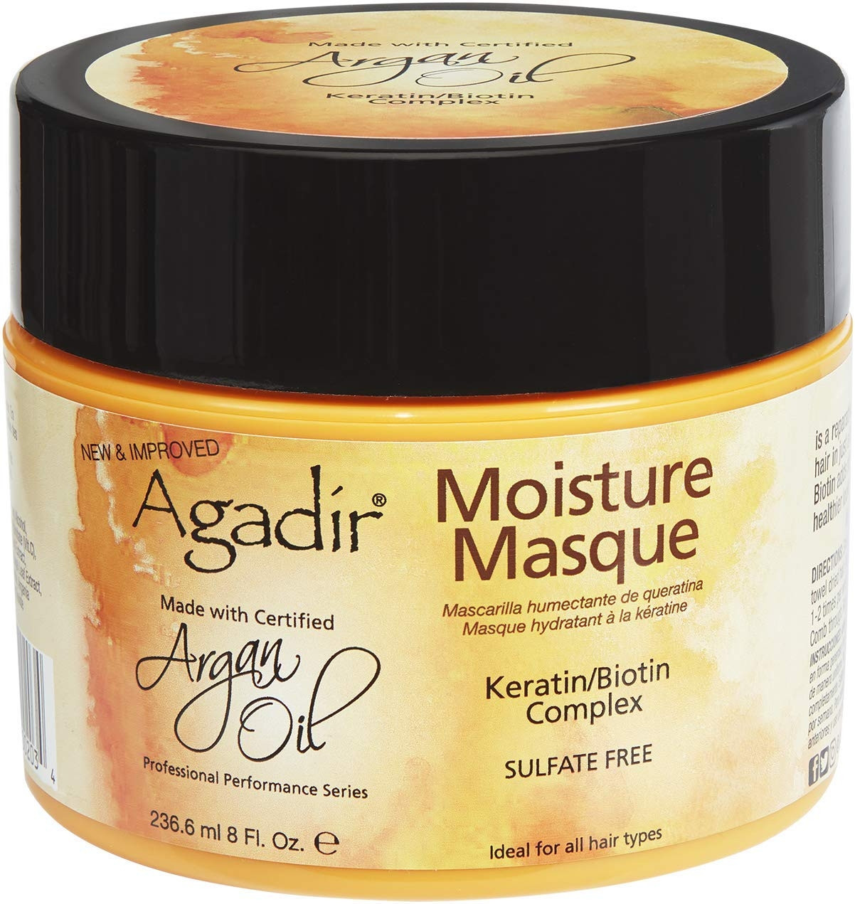AGADIR ARGAN OIL MOISTURE MASK 236.6 ML