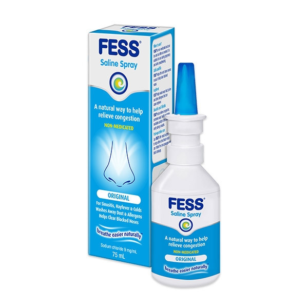 FESS NASAL SPRAY ORIGINAL 75ML
