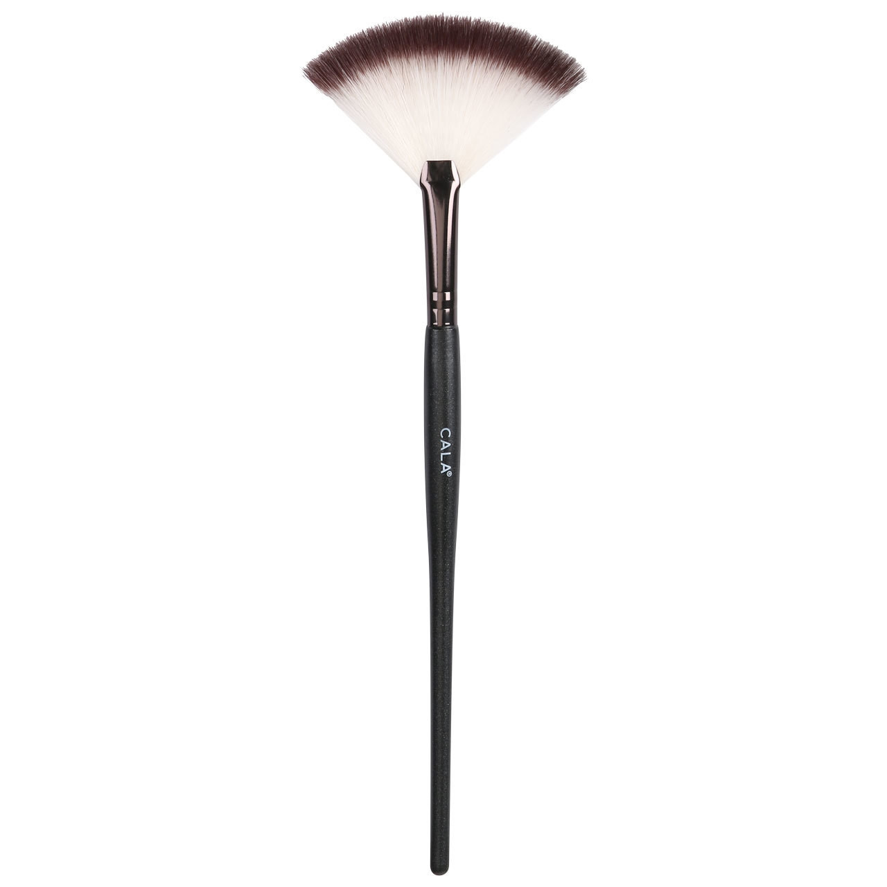 CALA PRO BLACK FAN BRUSH - 76754