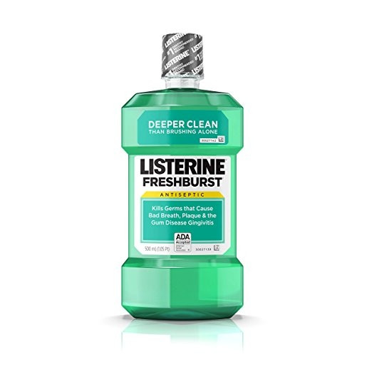Listerine Fresh Burst Antiseptic Mouthwash 500ml