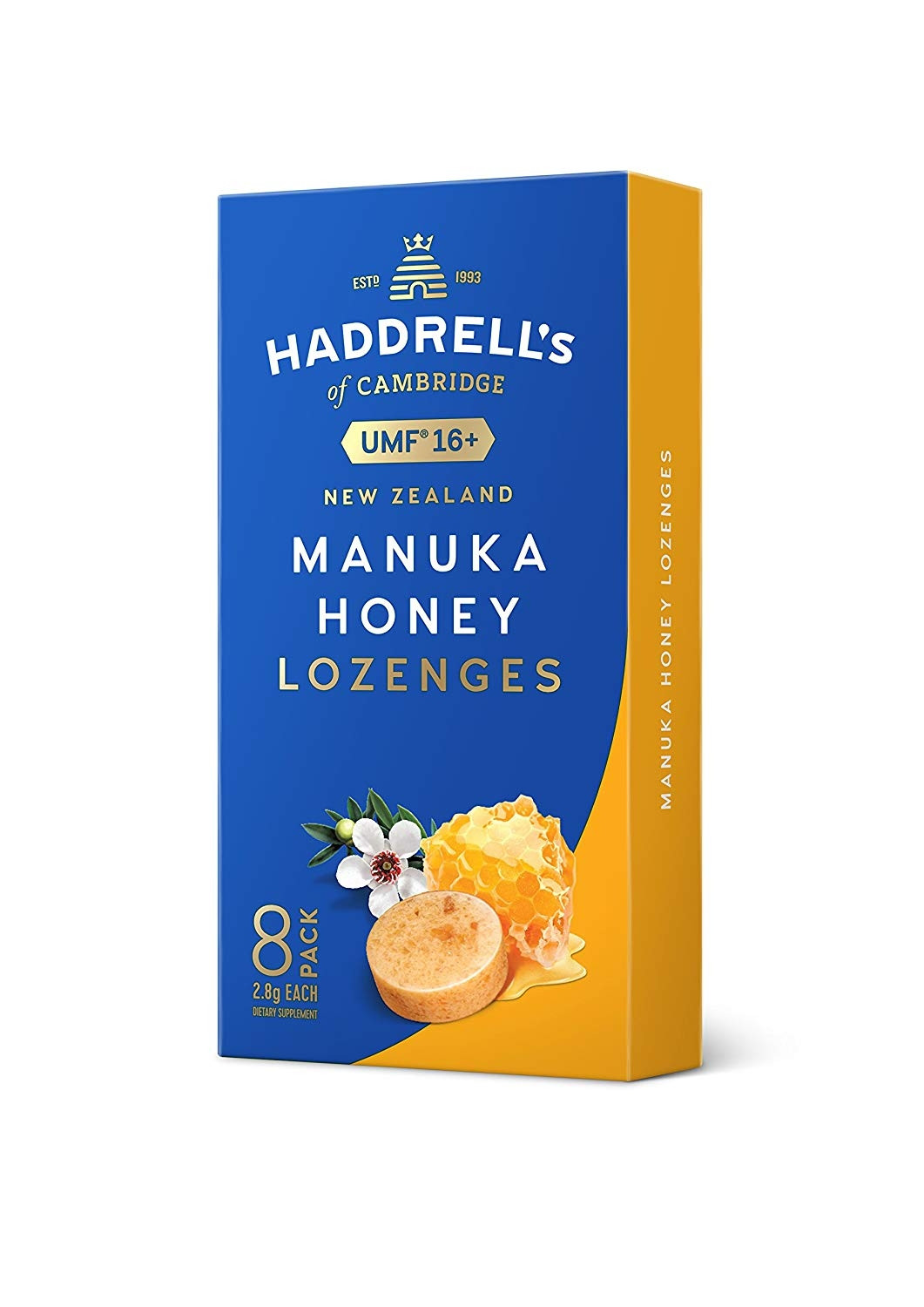 MANUKA HONEY UMF16+ LOZENGES 8 PACK