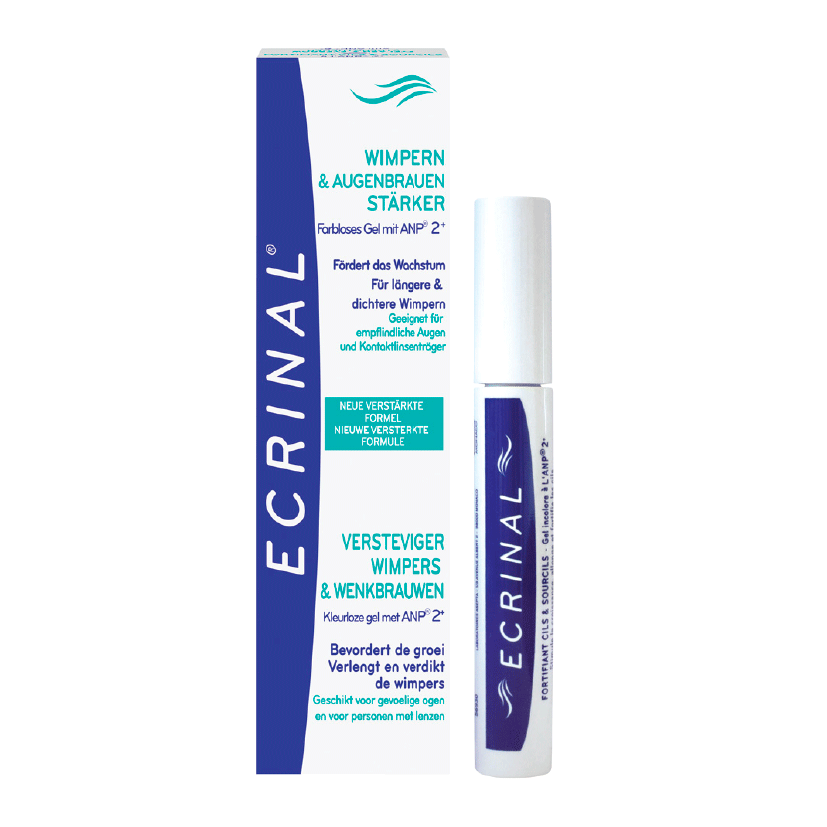 Ecrinal Eyelash & Eyebrow Strengthener clear Mascara .