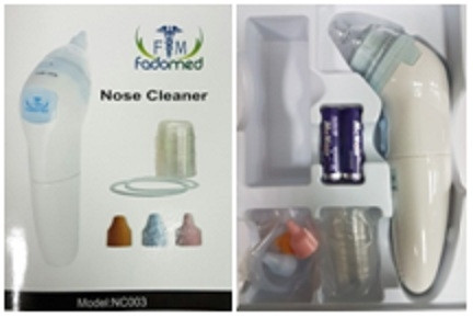 FADOMED ELECTRONIC NOSE CLEANSER.
