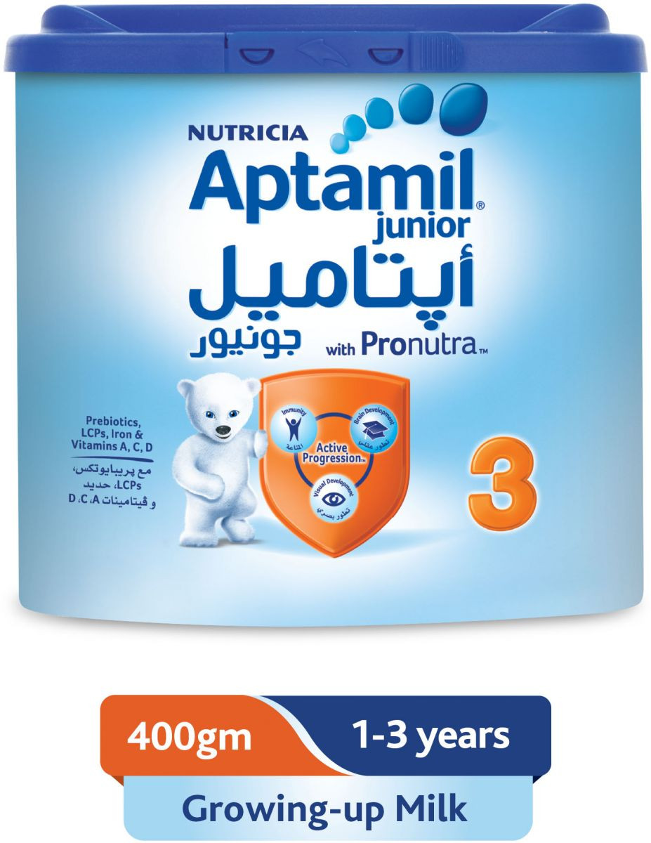APTAMIL JUNIOR (3) 400GM .