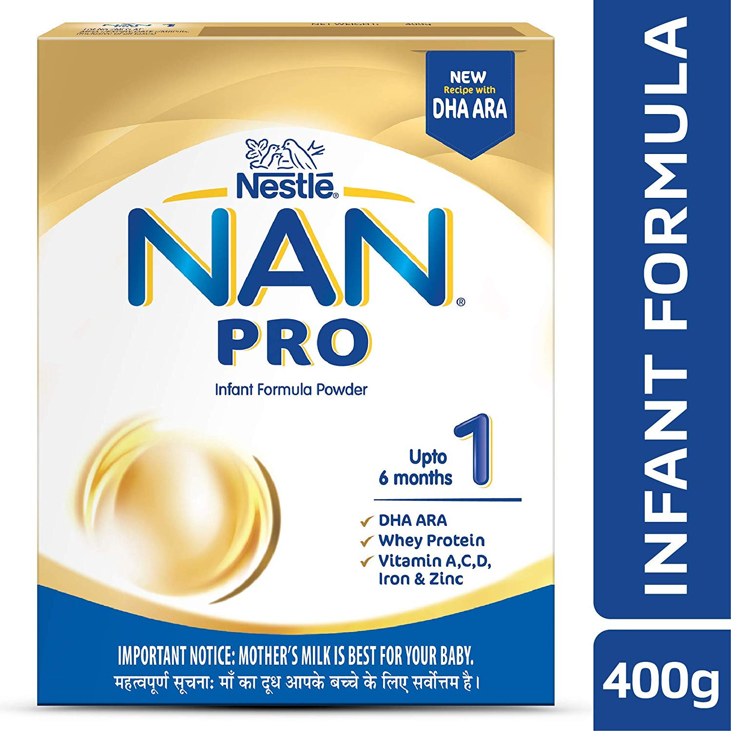 NAN MILK NO-1 400G