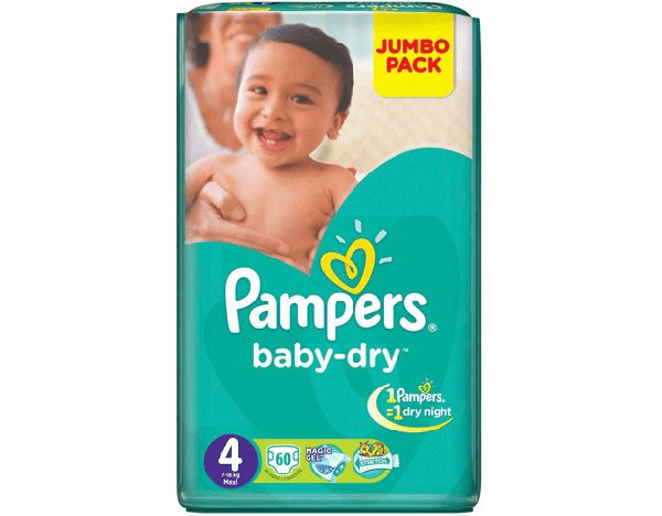 PAMPERS MAXI 60/4