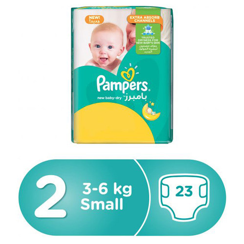 PAMPERS NEW BABY 2/23