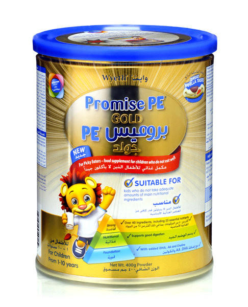 PROMISE PE 400GM MILK FOR 1-10YRS