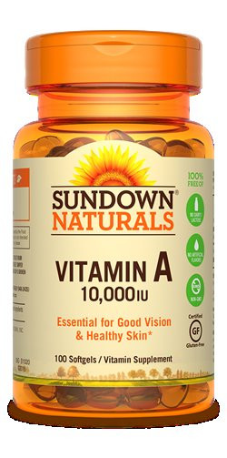 SUNDOWN VIT-A 10.000 IU  100CAP
