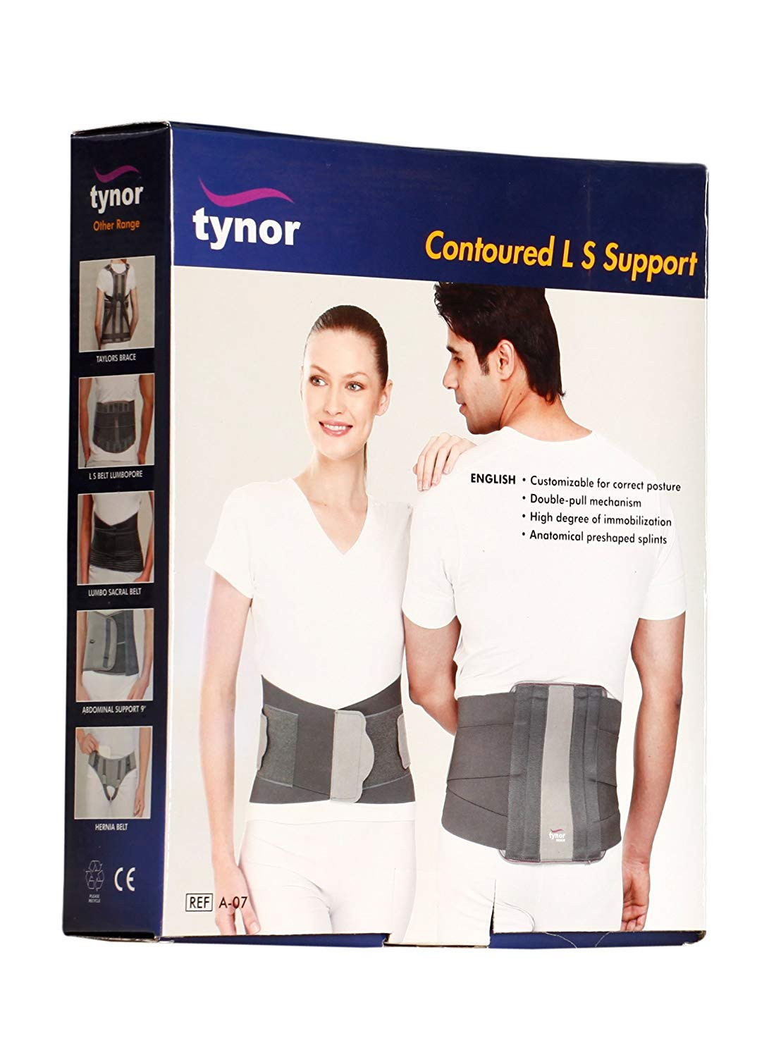 TYNOR CONTOURED L.S.SUPPORT A 07