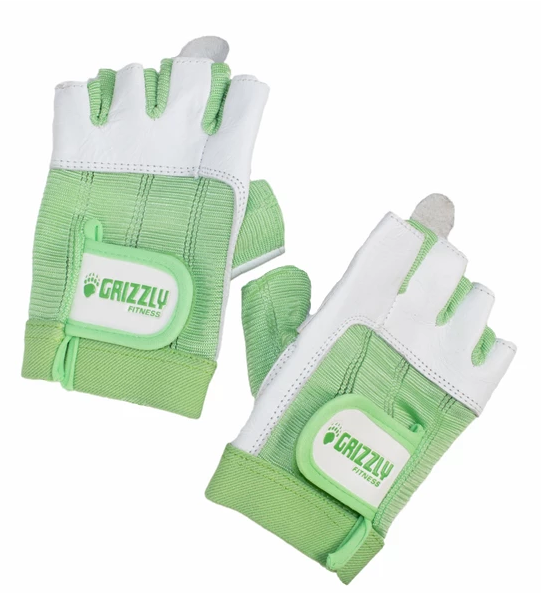 GRIZZLY WOMENS PAWS GLOVES GREEN SIZE MEDIUM