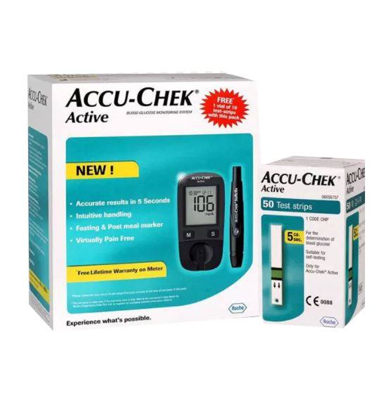 ACCU-CHEK ACTIVE MG/DL+ 50 STRIPS-OFFER