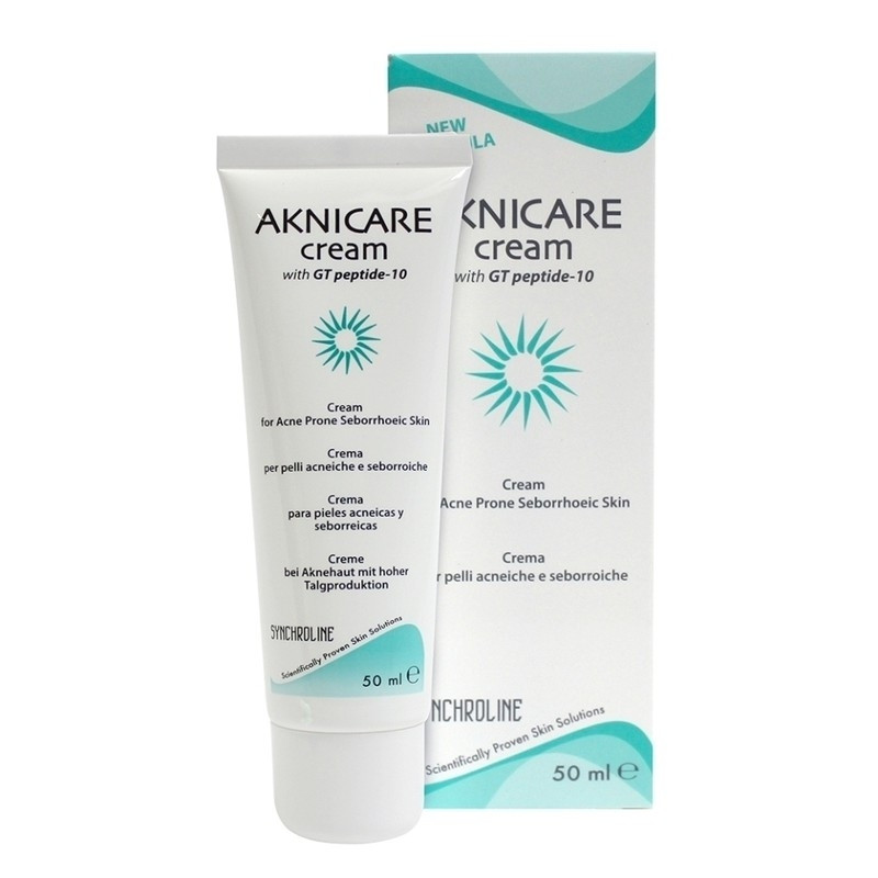 AKNICARE WITH GT PEPTIDE-10 CREAM 50 ML