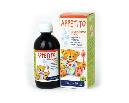 APPETITO CONCENTRATED,FLUID SYRUP