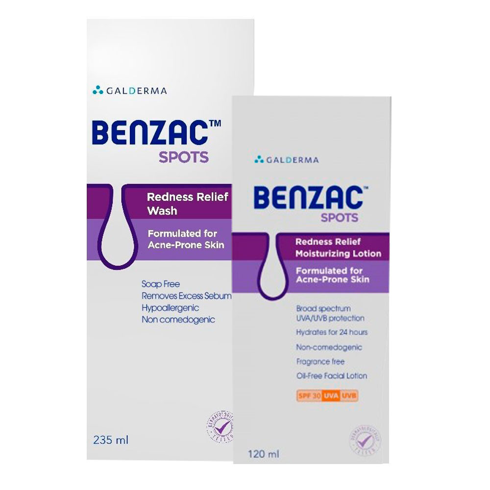 BENZAC SPOTS REDNESS (LOTION+WASH)-OFFER