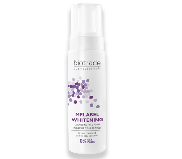 BIOTRADE MELABEL WHITENING FACE FOAM 200ML
