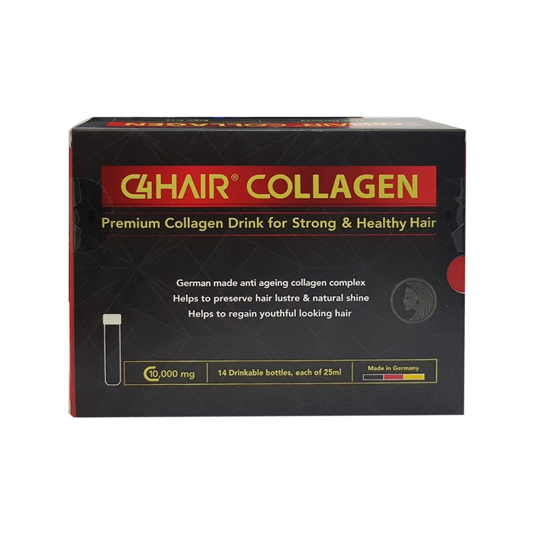 C4 HAIR COLLAGEN DRINK 14AMP X 25ML