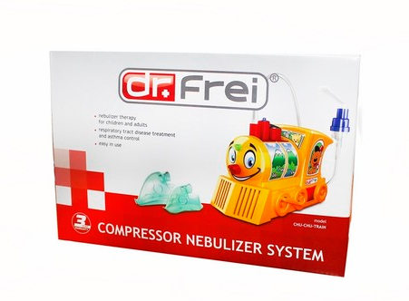 DR+ FREI NEBULIZER -TURBO TRAIN