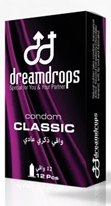 DREAM DROPS CONDOM CLASSIC 12PCS
