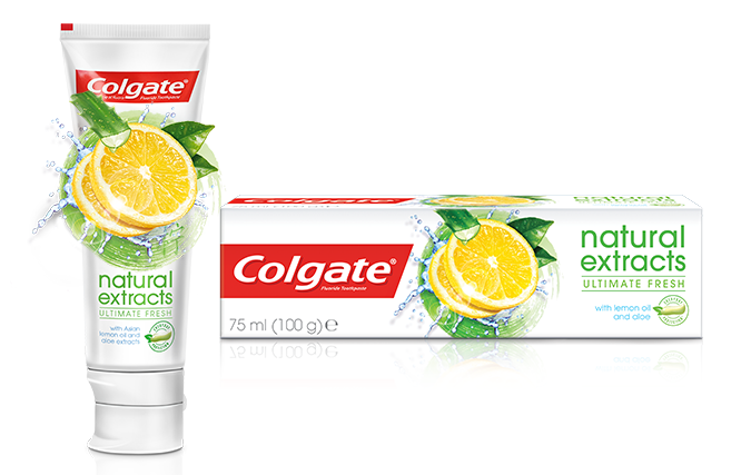 COLGATE NATURAL EXTRACTS LEMON OIL TOOTHPASTE 75ML