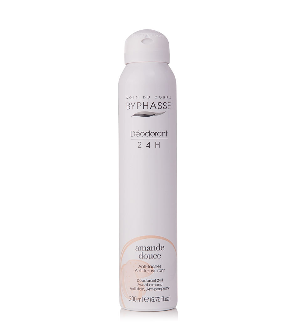 BYPHASSE BODY DEO 24H SWEET ALMOND SPRAY 200 ML