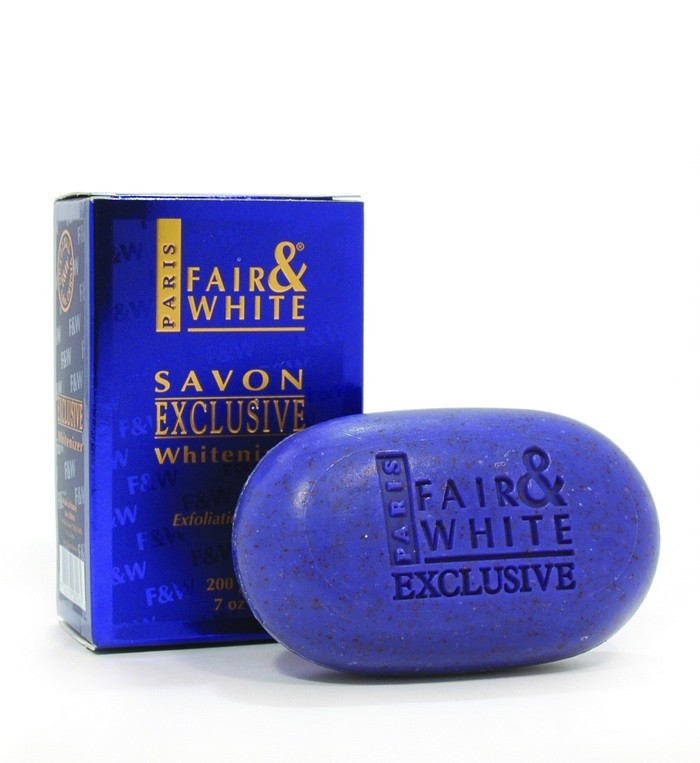 FAIR AND WHITE EXFOLIATING SOAP 200 GR-BLUE