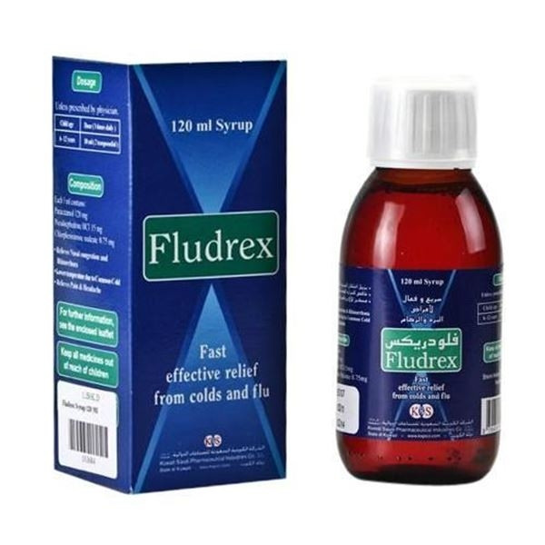 FLUDREX SYRUP 120 ML
