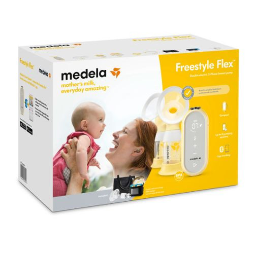 MEDELA FREE STYLE FLEX BREAST PUMP (DOUBLE PUMP)